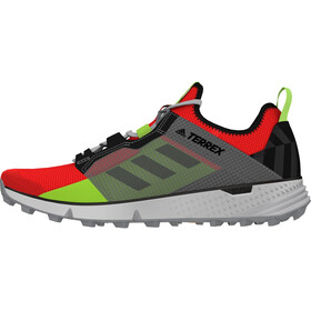 adidas TERREX Speed LD Zapatillas Trail Running Ligero Hombre, solar red/grey three/signal green